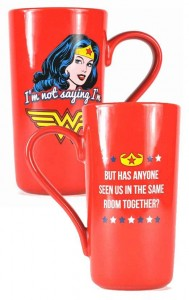 Kubek Wonder Woman Latte