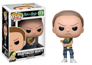 Figurka Rick and Morty POP! Weaponized Morty