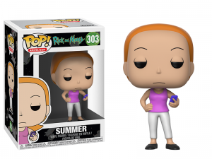 Figurka Rick and Morty POP! Summer