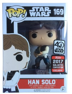 Figurka Star Wars POP! Han Solo Action Pose Exclusive