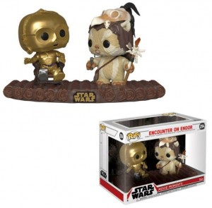 Figurka Star Wars POP! Movie Moment Encounter on Endor C-3PO