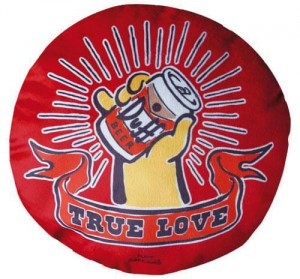 Poduszka Simpsons Duff Beer True Love