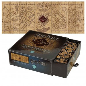 Puzzle Harry Potter Mapa Huncwotów 1000 el. Noble Collection