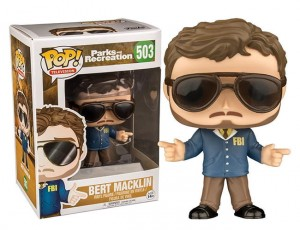 Figurka Parks and Recreation POP! Bert Macklin Exclusive