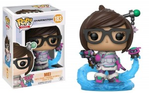 Figurka Overwatch POP! Mei with Snowball Blizzard Exclusive
