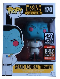 Figurka Star Wars POP! Grand Admiral Thrawn Exclusive