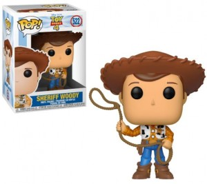 Figurka Toy Story 4 POP! Sheriff Woody