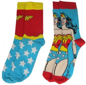 Skarpetki DC Comics Wonder Woman damskie 2-pak