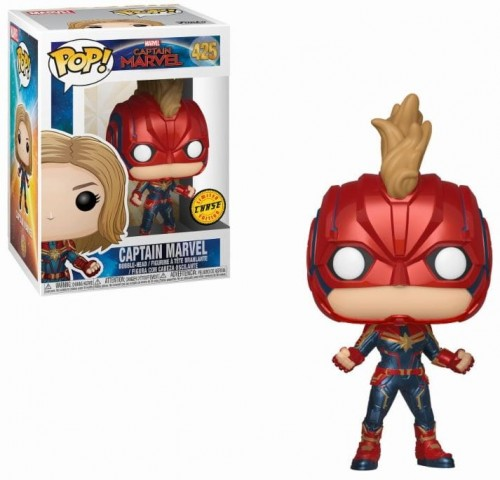 Figurka Kapitan Marvel Funko POP Chase Limited Edition.JPG
