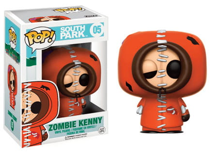 Figurka South Park POP! Zombie Kenny