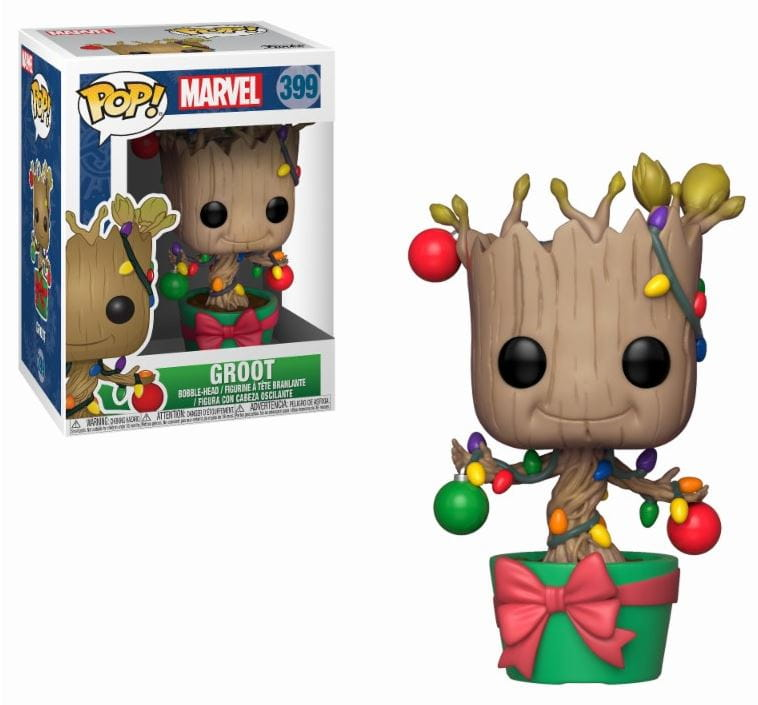 Figurka Marvel POP! Dancing Groot Holiday Lights