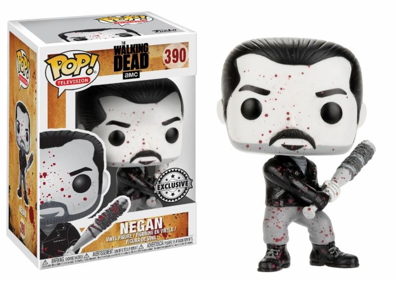 Figurka The Walking Dead POP! Negan Black & White Exclusive